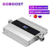 LTE amplificateur de Signal cellulaire 4G amplificateur DCS 1800MHz Band3 Signal 4G répéteur de Communication Internet écran LCD>