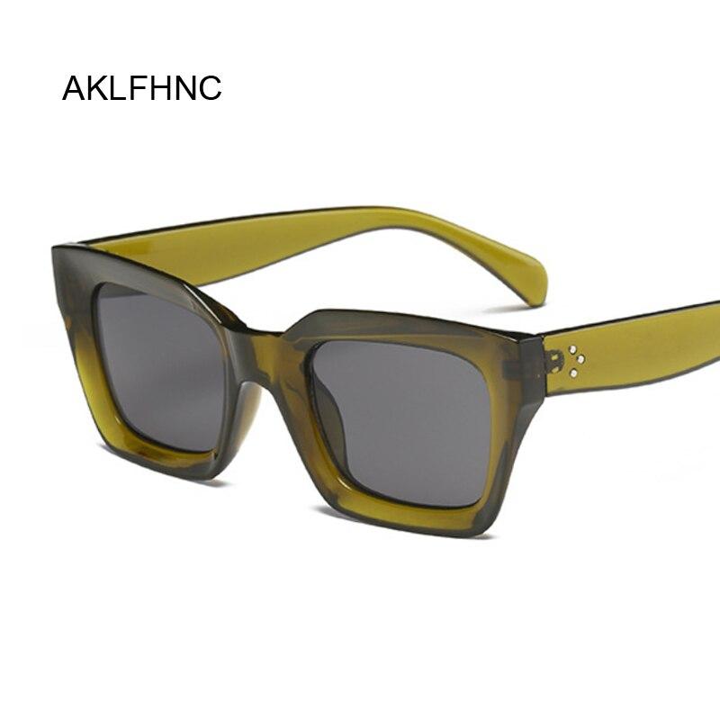 Oversize Luxury Brand Designer Sunglasses For Women Square Shades Fashion Retro Black Sun Glasses Female Oculos De Sol Feminino