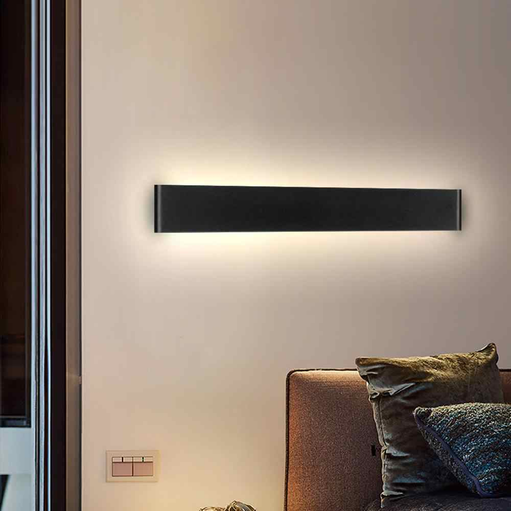 وحدة إضاءة LED جداريّة مصباح الحديثة تركيب المصابيح الجدار داخلي الشمعدان الحد الأدنى درج غرفة نوم السرير غرفة المعيشة المدخل المنزل 10 واط 20 واط الإضاءة