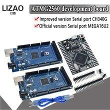 Mega2560 mega 2560 r3 ATmega2560-16AU ch340g avr placa de desenvolvimento usb mega2560 para arduino