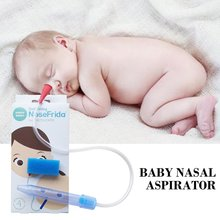 Portable Nose Cleaner Vacuum Suction For Baby Soft Tip Children Infant Safety Care Absorption Nasal Aspirator