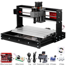 Upgrade Versie Cnc 3018 Pro Grbl Controle Diy Mini Cnc Machine 3 Axis Pcb Freesmachine Hout Router Graveur Met controller