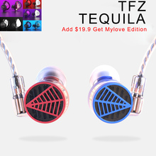 TFZ TEQUILA In Ear Monitors Professional Earphones Stereo Wired Earbuds Noise Reduction Music Dj Headset Detachable 2PIN Cable