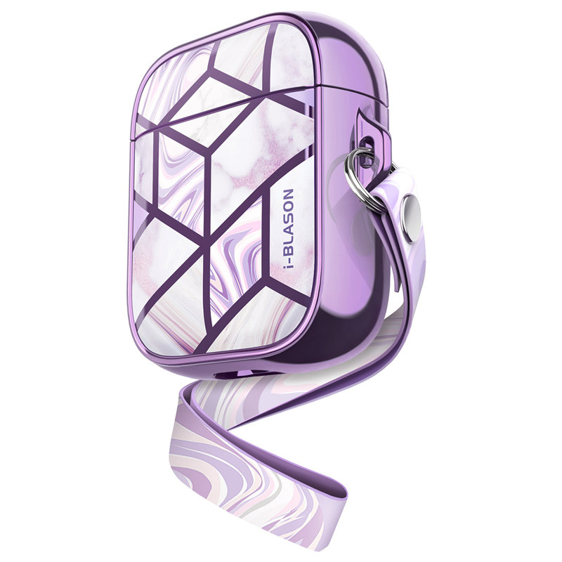 i-Blason Gems Series Case Designed for Airpods 1st//2nd Translucent Iridescent