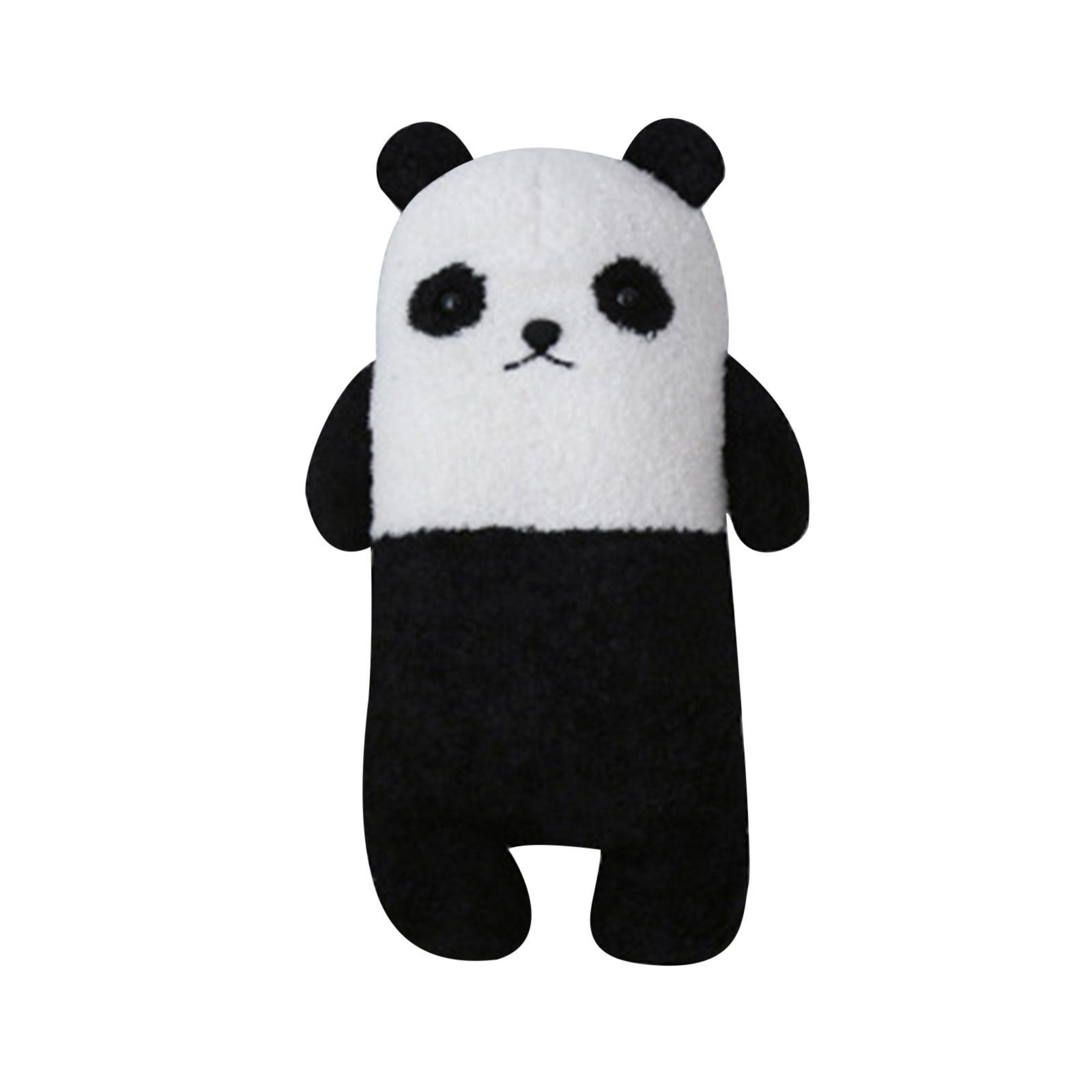 Squishmall Panda Plush Toys Children Stuffed Animals Cartoon Figure Plush Doll Pillow Soft Cute Plush Stuff Birthday Gift Kids