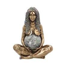 15см Богиня Мать Земля Искусство Статуя Ремесла Полирезин Фигурка Мать Земля Статуя Мать% 27s День Подарок Дом Открытый Орнамент