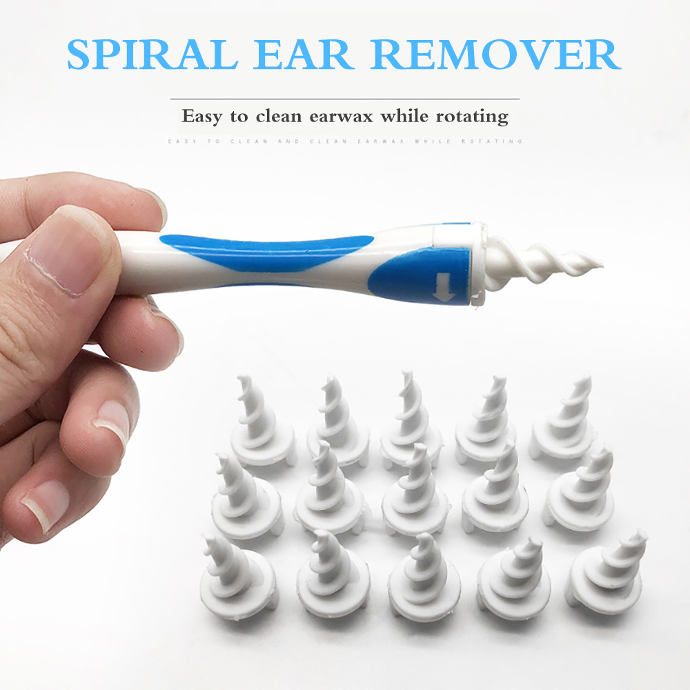 Children Ear Cleaner Adult Ear Pick Safety Remove Earwax Tool Health Ears Care Set 16 Head Soft Silicone Rotating Ear Wax Tools 1