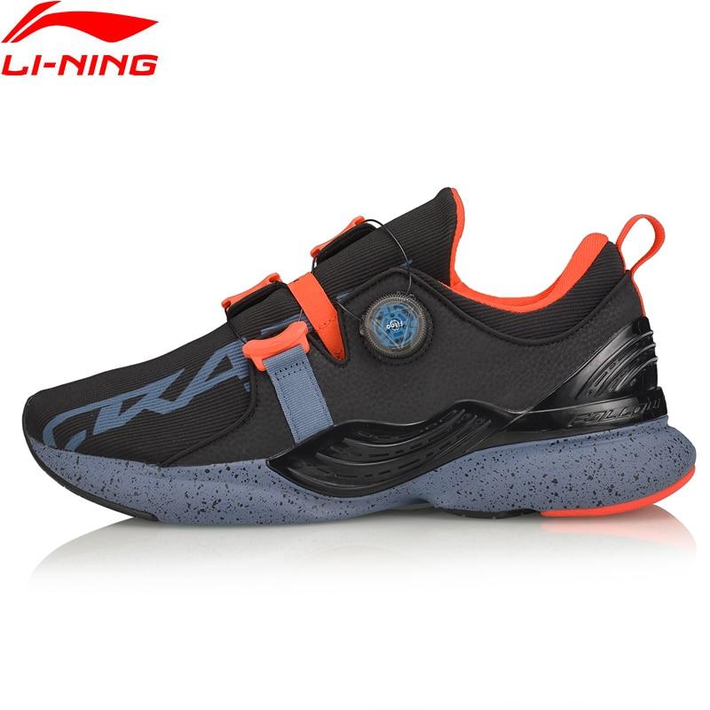 Li-Ning Men CRAZYRUNX Cushion Running Shoes Wearable Anti-Slippery LiNing Li Ning Breathable Sport Shoes Sneakers ARHP135 XYP955