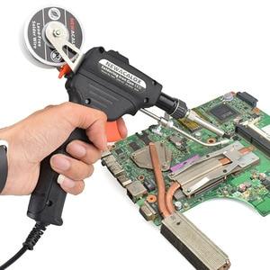Image 4 - NEWACALOX EU/US 60W Hand held Soldering Iron Internal Heating Automatically Send Tin Gun with Power Switch Solder Gun Tool Kit