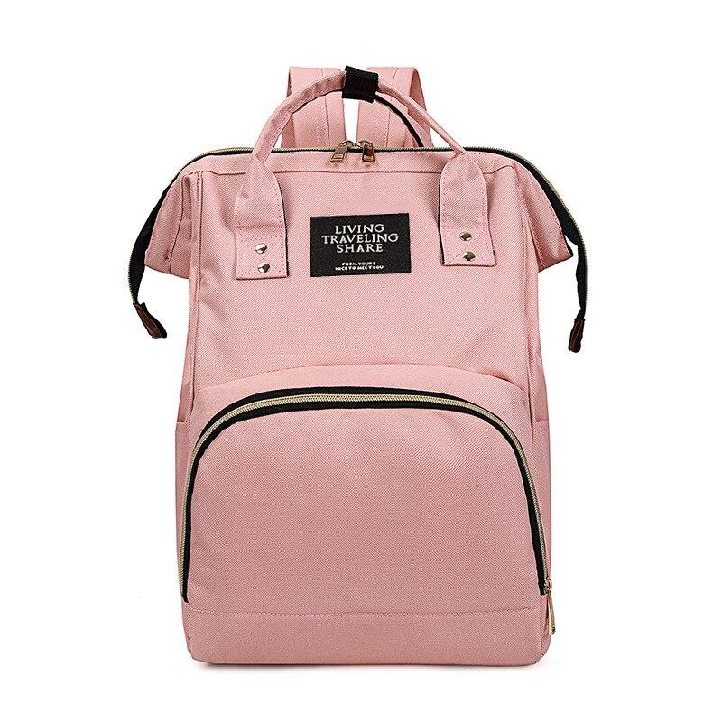 Fen Chi Diaper Bag 2019 New Style Fashion Multi-functional Large-Volume Mommy Bag MOTHER'S Bag Light Nursing Backpack