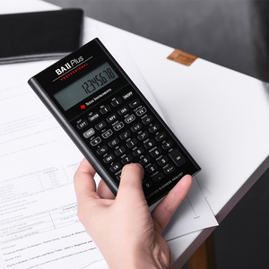 Image 5 - Ti BAII Plus Professional CFA 10หลักLedดาวน์โหลดCalculatrice Calculadoraการคำนวณทางการเงินนักเรียนเครื่องคิดเลขทางการเงิน