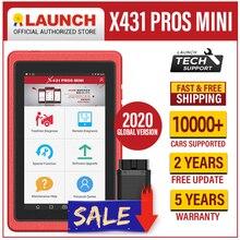 Lancio X431 pro mini obd2 strumento diagnostico WiFi Bluetooth scanner diagnostico per auto codifica ECU strumento automobilistico lancio obd2 scanner