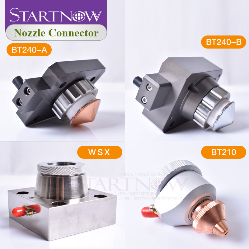 Raytools Laser Cutting Head BT210 BT230 BT240/240S WSX001A LaserMech Nozzle Connection Part For Fiber Metal Cutting Machine