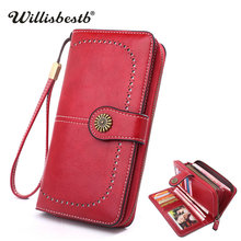 2019 New Vintage Purses Female Wallet Women Card Holder Clut