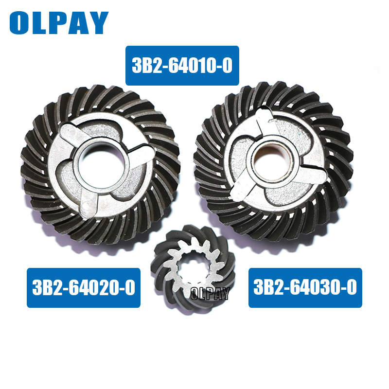 Gear Set For Tohatsu 2 Stroke 9.8HP Outboard Motor 3B2-64010-0  3B2-64020-0 3B2-64030-0