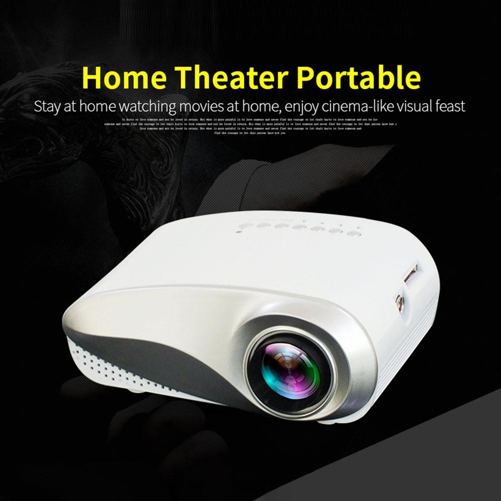 Mini Projector Full HD 1080P Projector 3D LED Projector Multimedia Home Theater USB VGA HDMI TV Home Theatre System
