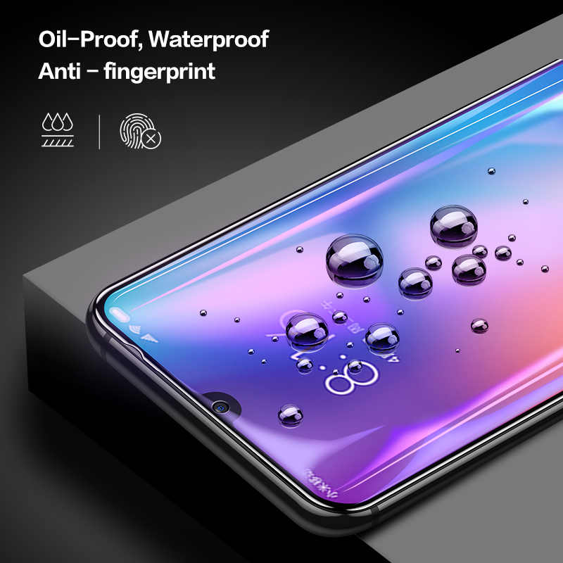 Smartdevil Tempered Glass untuk Xiaomi Mi 10 Pro K20 Pelindung Layar untuk Xiaomi Mi 8 Li 9T PRO 9 se Global Versi Cahaya Biru