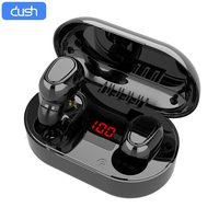 DUSH Wireless TWS Headphones Bluetooth 5.0 Earphone Mini Headset Waterproof Handsfree Huawei Ear Buds for Xiaomi iPhone Samsung