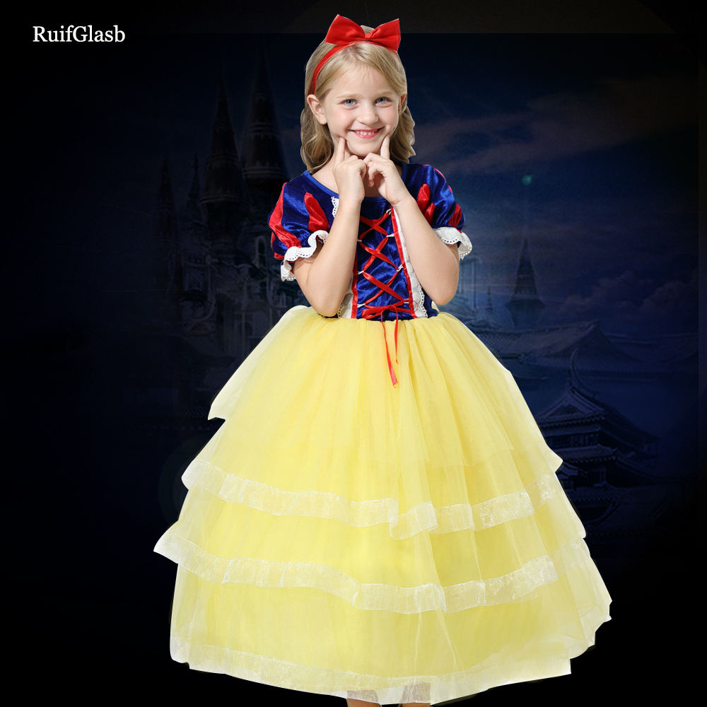Girl Party Dress Halloween Christmas Kids Fancy Clothes Princess Baby Ball Gown