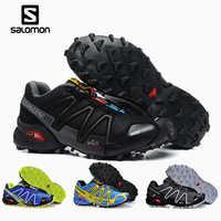 Salomon Speedcross 3 CS Sport półbuty męskie oddychające Zapatillas Hombre Mujer mężczyzna ogrodzenia Sneaker prędkość przekroczyć 3 EUR 40-46