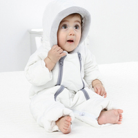 IYEAL Baby Winter Clothes Girl Romper Warm Duck Down Jumpsuit Baby Boy Overalls Long Sleeve Hooded Outerwear Baby Girl Snowsuit