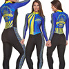 2019 pro equipe triathlon terno feminino camisa de ciclismo skinsuit macacão maillot ciclismo ropa ciclismo conjunto manga longa almofada gel 013 23