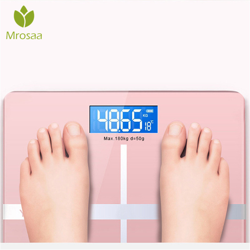 Floor Scales Scientific Smart Scales Electronic LCD Digital Body Weight Scale BMI Bathroom Balance Bluetooth-APP Android or IOS 2
