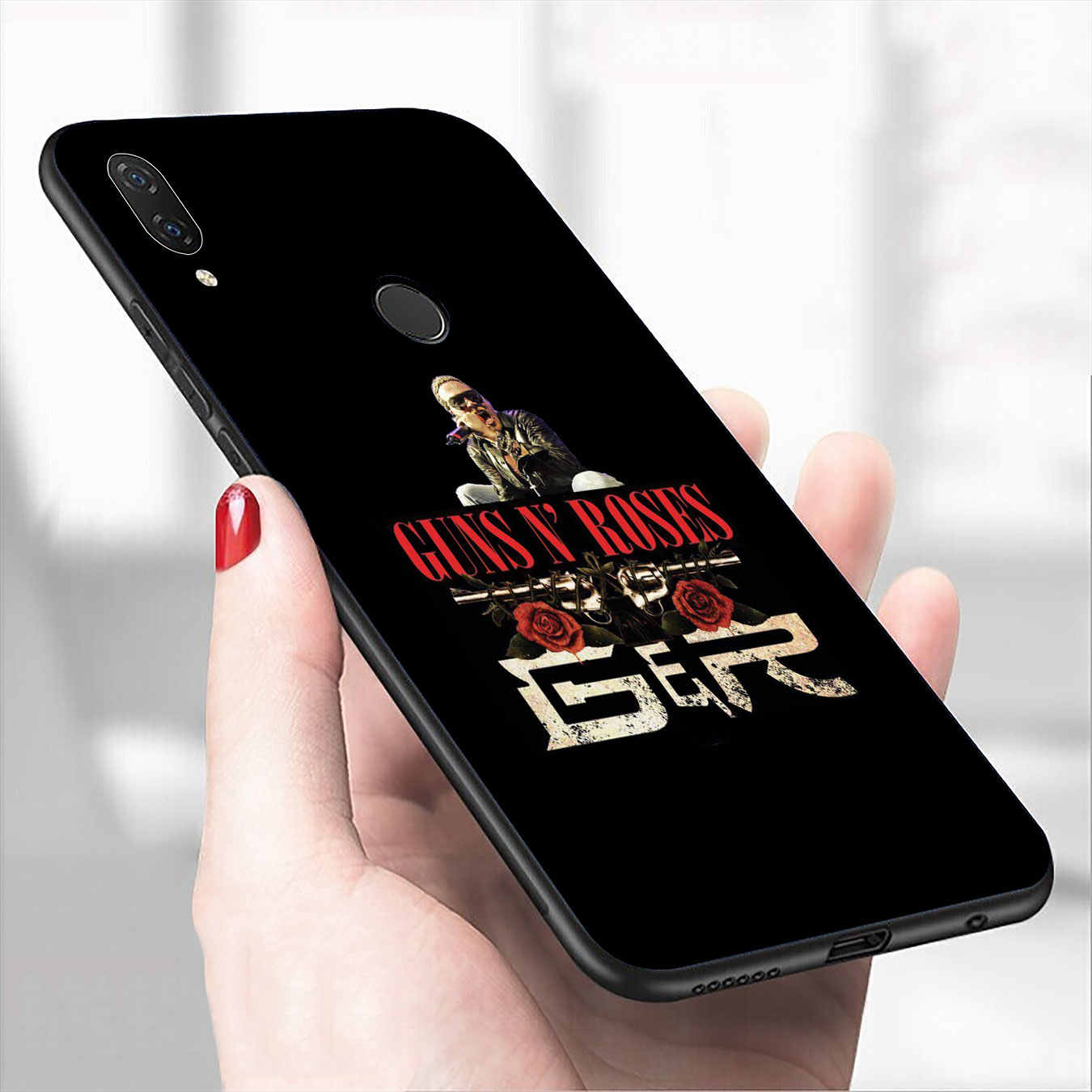 IYICAO guns n roses Guns N' Roses de la caja del teléfono de silicona para Xiaomi Redmi 8A 7A 6A 5A K20 S2 4A 4X Nota 8 7 6 Pro 5 Plus