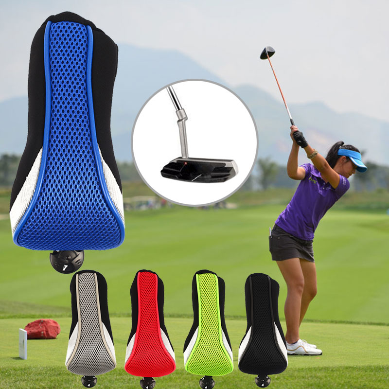 Golf Club Protector Golf Club Head Storage Sport Identification Breathable Mesh Golf Head Covers Trave Numbers Accessories