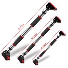 Door Exercise Bar Pull Up Bar Automatic Locking Horizontal Bar Wall Fixed Pull-up Bar for Home Fitness Workout Gym Training худи print bar drogos gym