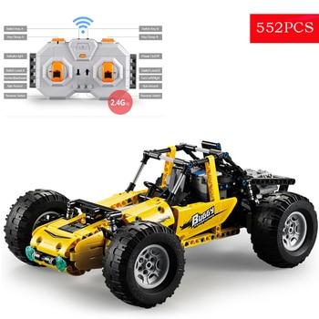 Technics RC Car Dune Buggy Construction Kit Remote Control