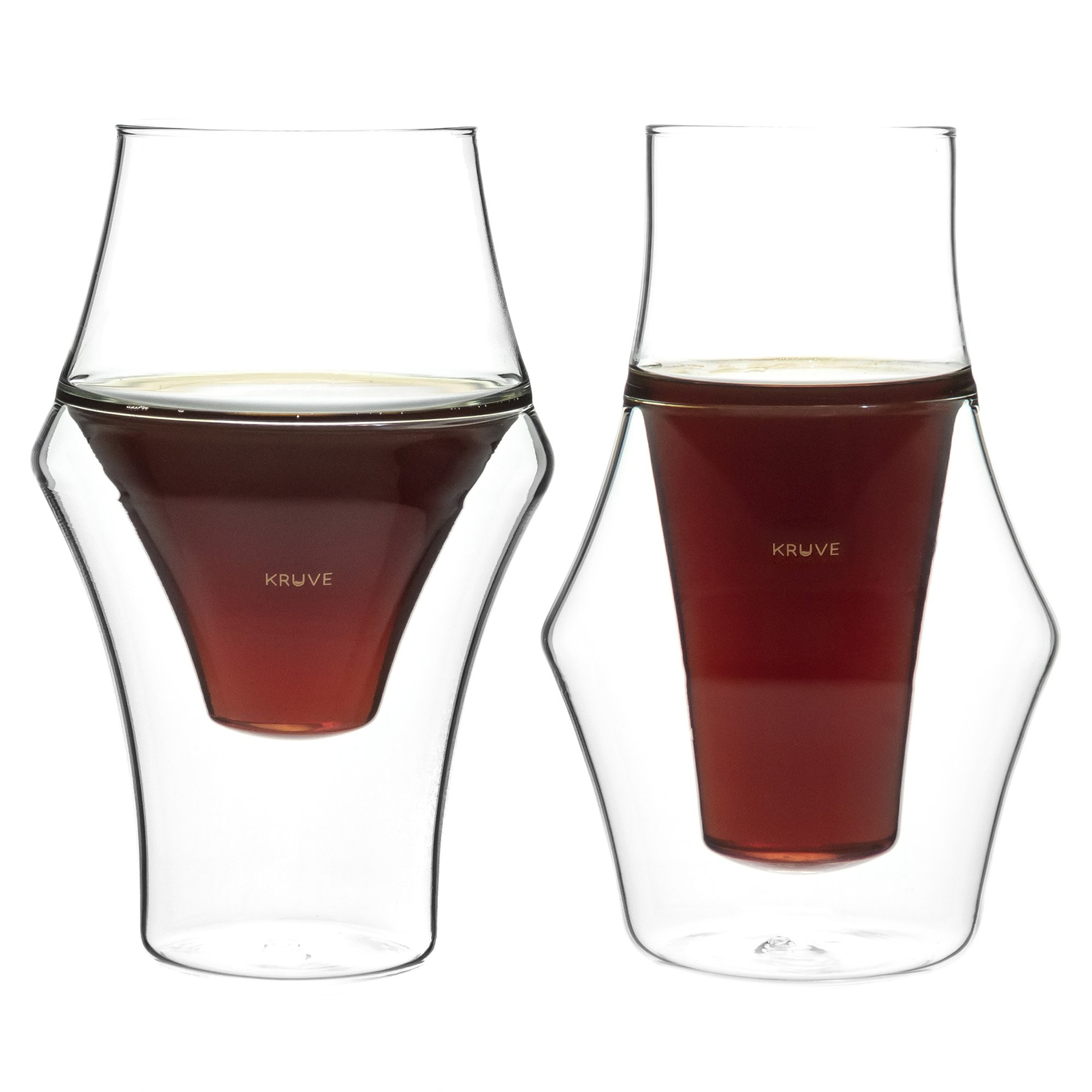 KRUVE EQ Glasses &PROPEL Espresso Glasses Tasting Cup Enhance Sensory Experience Enhanced Aroma Balanced Flavour Dishwasher Safe