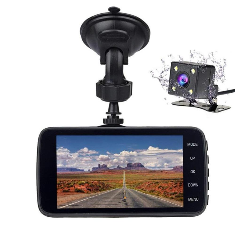 Автомобильный видеорегистратор, видеорегистратор, Автомобильный видеорегистратор, видеорегистратор, HD, ночное видение, 1080 P, двойная линза,...