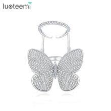 Luoteemi Высокое качество модная Уникальная Регулируемая кольцо