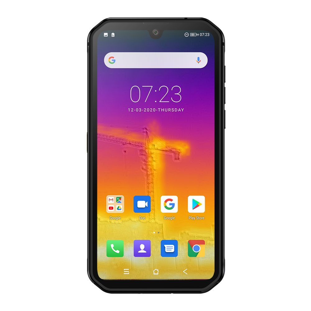 Blackview BV9900 Pro NFC 8GB 128GB Thermal Camera Mobile Phone  Helio P90 Octa Core 4G Rugged Smartphone 48MP Quad Rear Camera