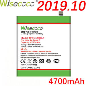 Wisecoco Battery for Lemax2x822 X821x820 Replace Phone LTH21A 4700mah X829 Letv Leeco