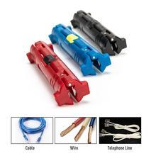 Многофункциональные электрические массажи для зачистки проводов ручка провод кабель ручная резка поворотный коаксиальный кабель резец инструмент для зачистки плоскогубцы инструмент
