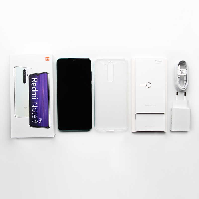 """In Magazzino Globale Versione Xiaomi Redmi Nota 8 Pro 6GB 64GB Smartphone 64MP Camera 6.53 """"Helio G90T octa Core 4500mAh Batteria NFC"""