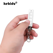 kebidu 433MHz Wireless Remote Control Cloning Duplicator With Key Chain 4 Buttons Electric Copy Controller For Garage Door