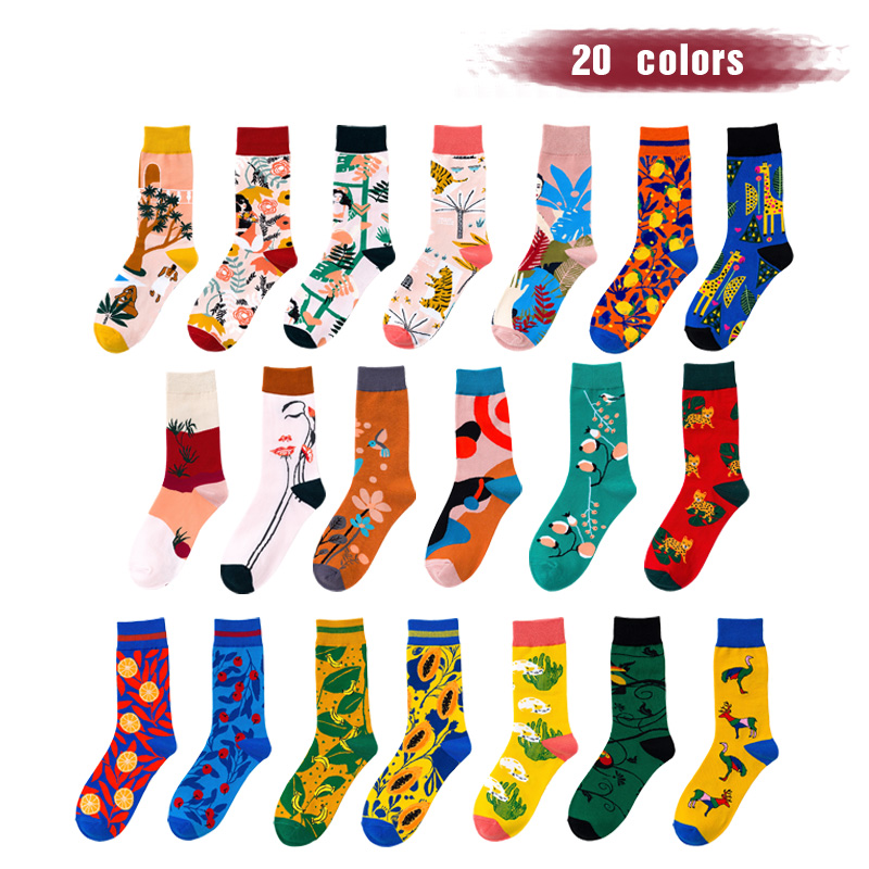 UP GRADE New Happy Cycling Sock Men Women Road Bicycle Sock Outdoor Brand Racing Bike Compression Sport Socks Calcetine Ciclismo