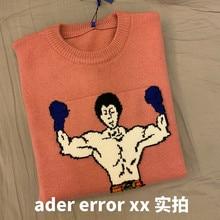 2020fw Adererror Sweater Men Woman 1:1 Best-quality Crew Neck Crewneck Ader Error Sweatshirts