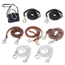 120 cm Leather Shoulder Bag Strap Quality Fashion Accessories DIY Cross Body Adjustable Belt New Solid Replacement