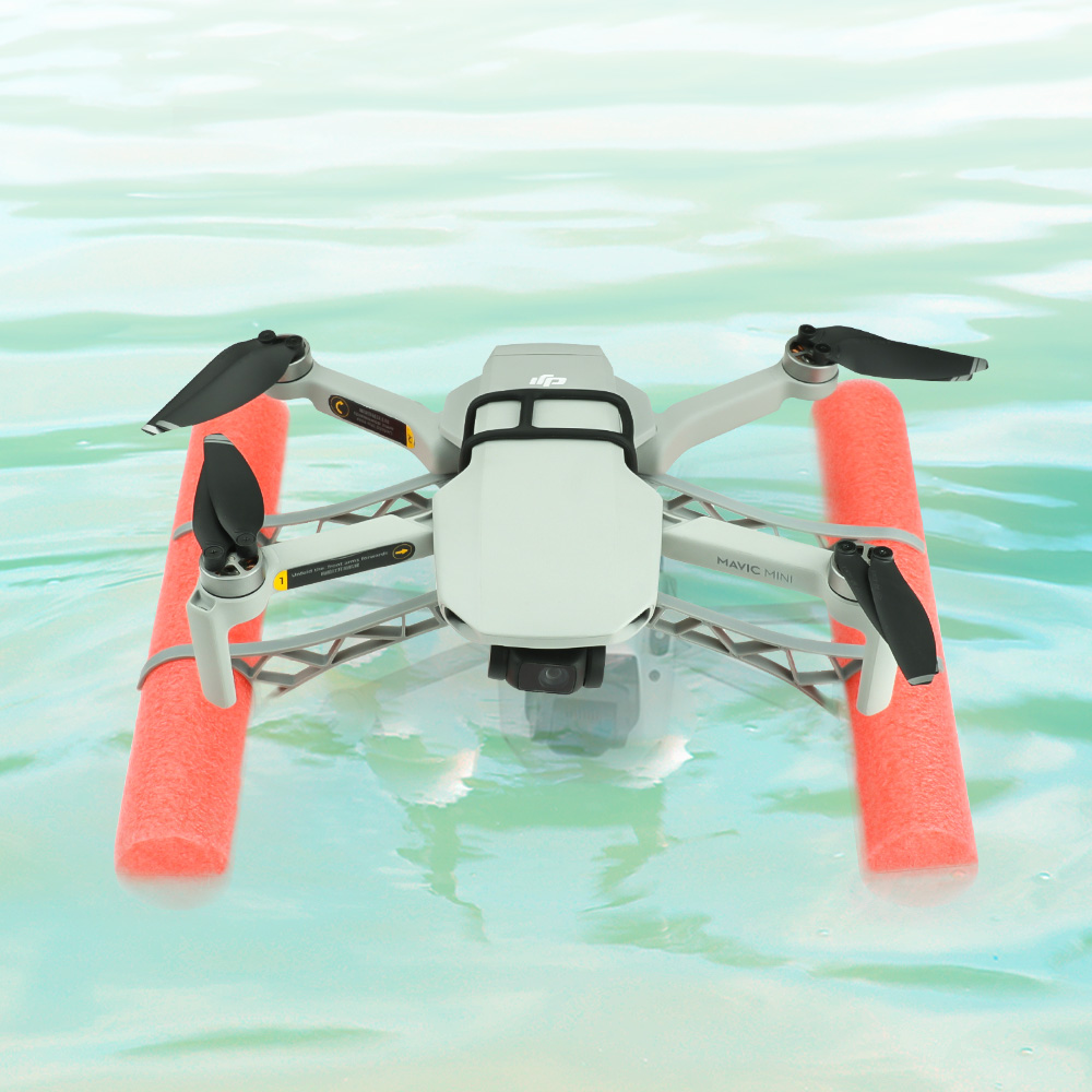 Water Snow Floating Landing Gear For Mavic Mini Drone Floating Landing Kit  Accessories