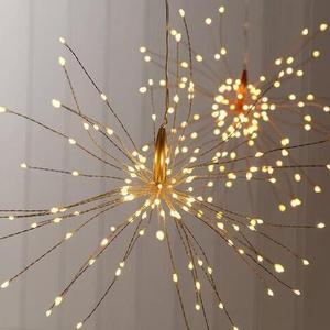 flower shape string light holi