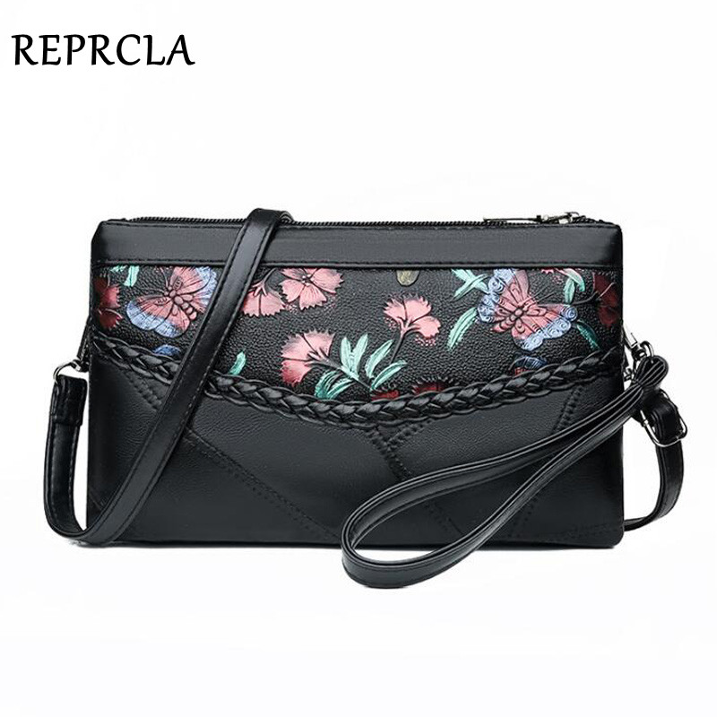 Soft Leather Women Shoulder Bag Patchwork Purse And Handbag Fashion Wrist Clutch Ladies Crossbody Messenger Bags