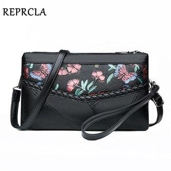 Soft Leather Women Shoulder Bag Patchwork Purse and Handbag Fashion Wrist Clutch Ladies Crossbody Messenger Bags