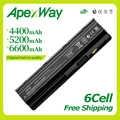 Apexway 11.1V Batteria Per HP Compaq Pavilion G6 G4 G61 G7 DM4 DV3 DV5 DV6 DV7 CQ42 CQ43 CQ62 CQ72 MU06 593553-001 hstnn-lb0w