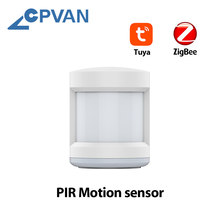 CPVAN Zigbee Motion Sensor Detector Smart Human Body Sensor Home Security System PIR Motion Sensor Wireless Zigbee Gateway