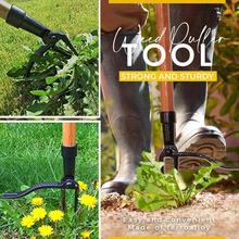 nail design Weed Puller Tool Claw Weeder Root Remover Outdoor Killer Tool Portable Garden Weed Puller Removable With Foot Pedal