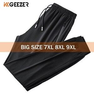 Black Pants Men 7XL 8XL 9XL Plus Size Ic